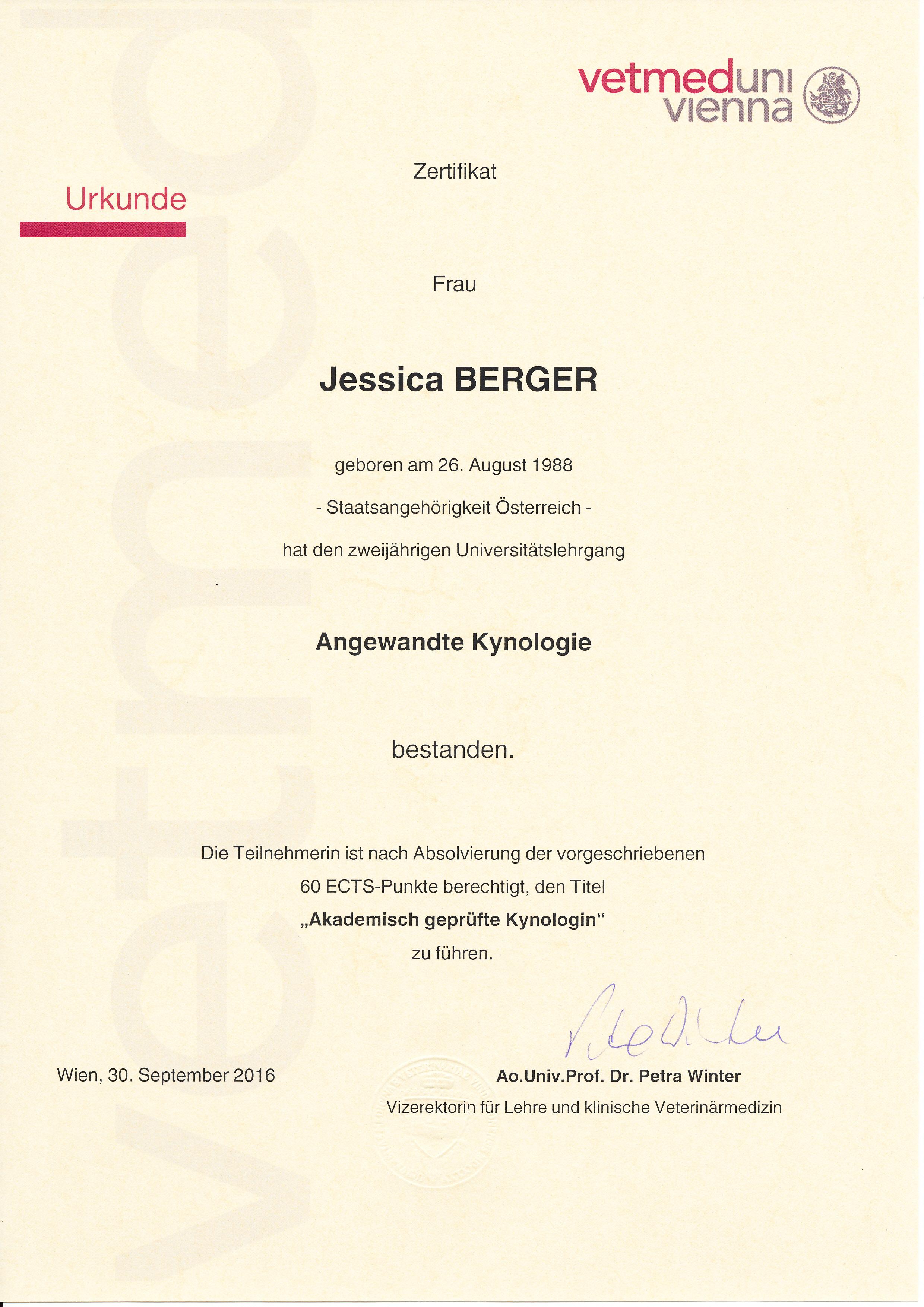 ULG Angewandte Kynologie